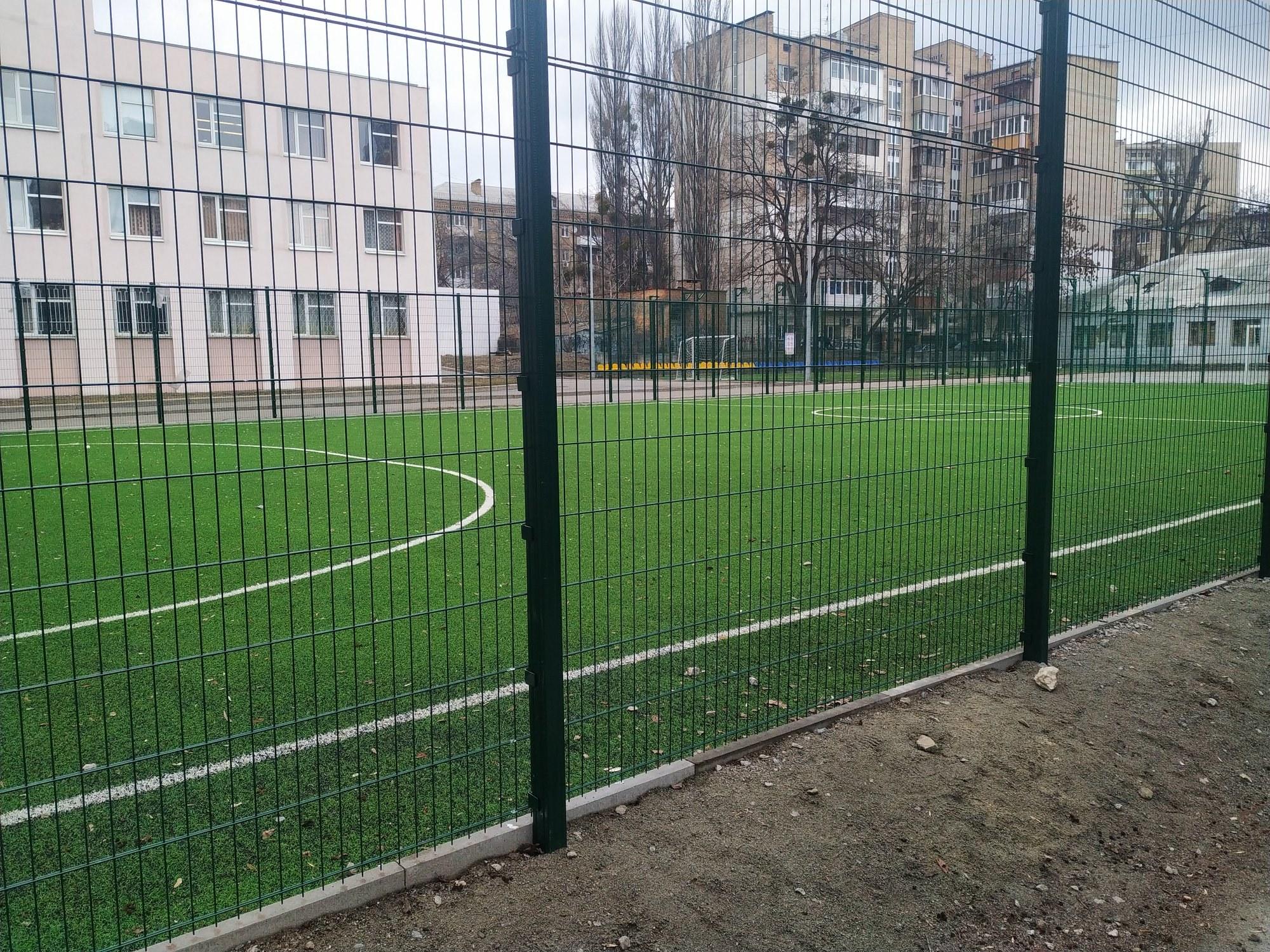Завдяки ГБ оновлено футбольне поле