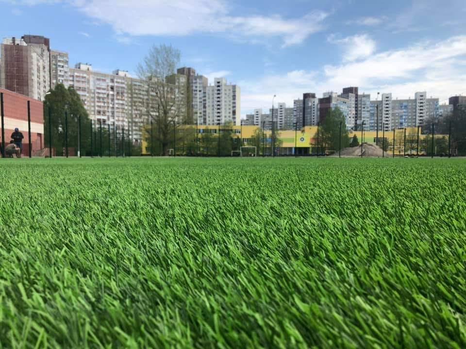 29 травня в рамках ГБ відкриють футбольного поля на Теремках