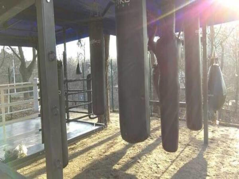 У Києві завдяки ГБ працює безкоштовний боксерський майданчик