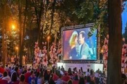 У Києві завдяки ГБ відкрили кінотеатр просто неба