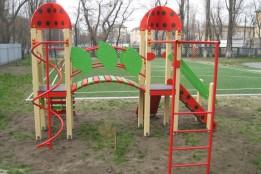 Завдяки ГБ у дитсадках встановили нові ігрові комплекси