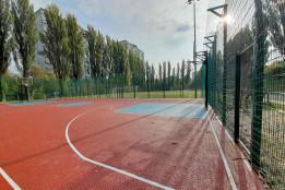 У Солом'янському районі завдяки ГБ відремонтували баскетбольний майданчик