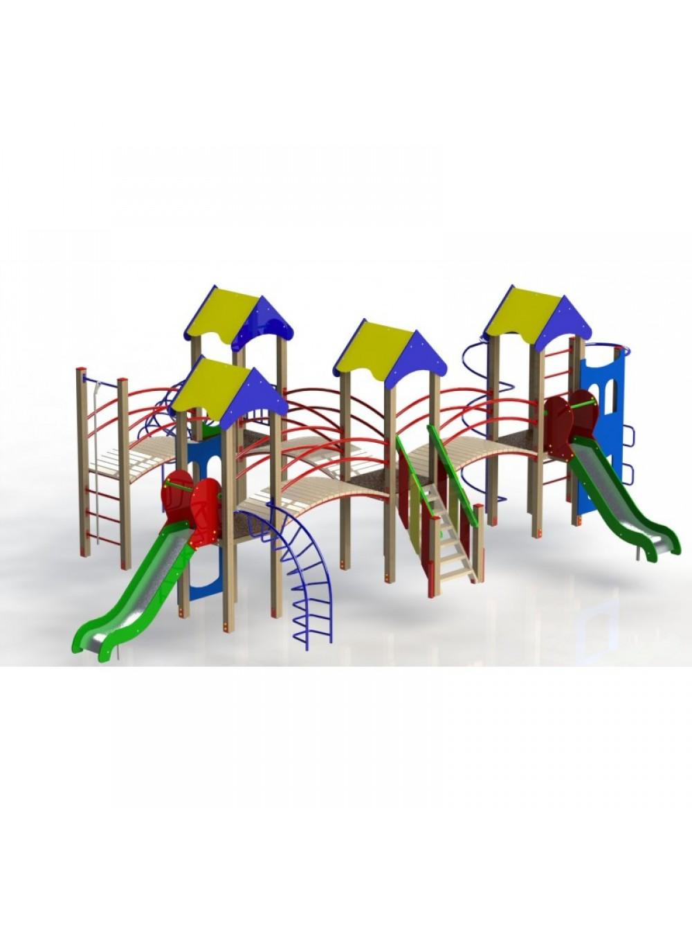 Дитячий ігровий майданчик на Теремківській 2а-6